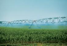 irrigation pivot sprays