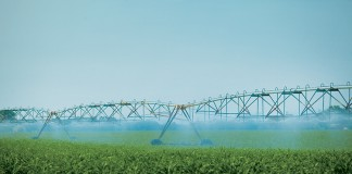 irrigation pivot sprays