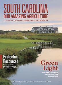 South Carolina Our Amazing Agriculture 2014 cover