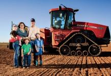Oklahoma family farm