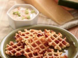 Cornbread Waffle Bites