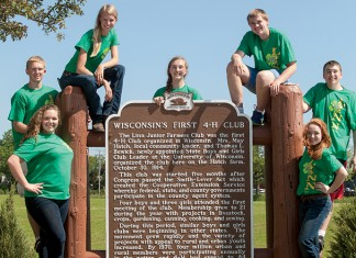 4-H Marks 100 yrs. in Wisconsin