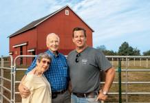 Suydam farm in Somerset, New Jersey