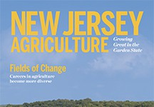 New Jersey Agriculture 2015 cover