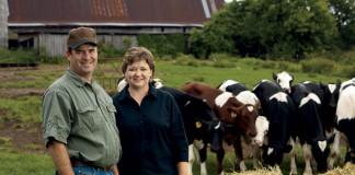 Beef cattle farmer John Mitchell