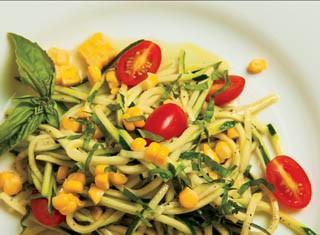 Zucchini, Corn and Tomato Salad recipe