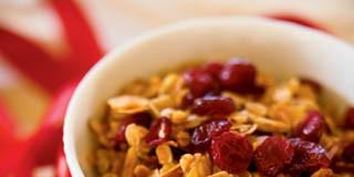 Cinnamon Cranberry Granola recipe
