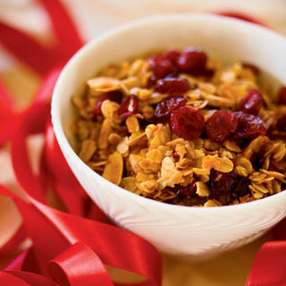 Cinnamon Cranberry Granola recipe