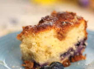 Blueberry Buckle Coffeecake recipe