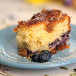 Blueberry Buckle Coffeecake recipe