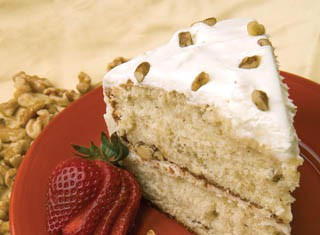 Black Walnut Cream Cake recipe