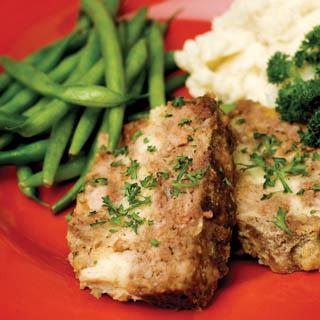 Ribbon Meatloaf recipe