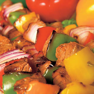 Beef and Mushroom Kabobs recipe