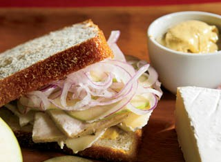 Toasted Turkey and Brie Sandwiches recipe