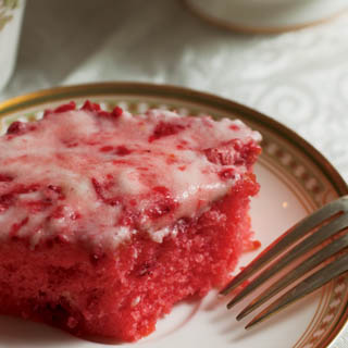 Strawberry Jello Cake From Scratch