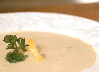 Lemon Artichoke Soup Recipe