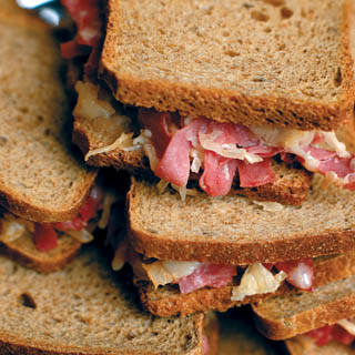Oven-Baked Mini Reubens Recipe