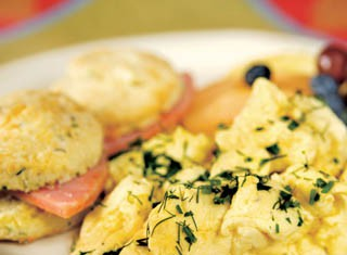 Slow-Cooked Scrambled Egg Beaters recipe