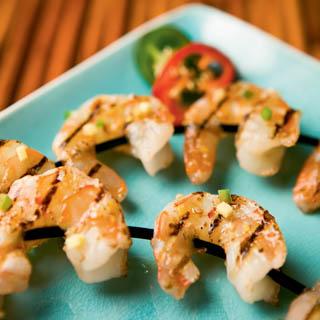 Cider Glazed Shrimp recipe