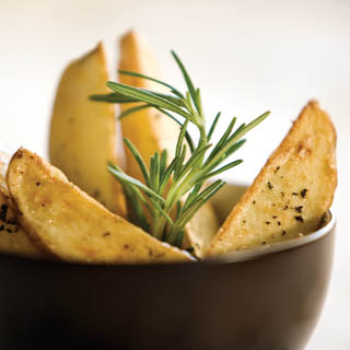Spring Potato Wedges recipe