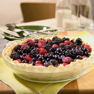 Berry Pie Recipe With Raspberries, Blackberries and ...