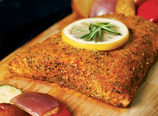 Cedar Plank Roasted Salmon recipe