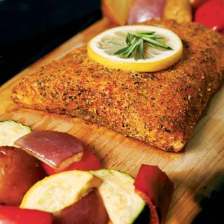 Cedar Plank Roasted Salmon recipe