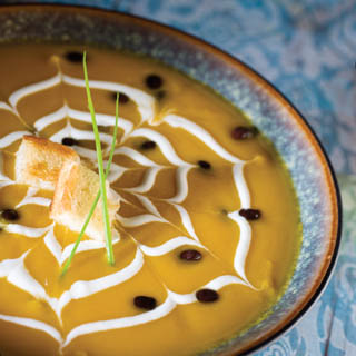 Squash and Black Bean Soup recipe