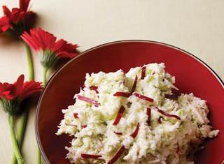 Cabbage and Apple Horseradish Slaw recipe