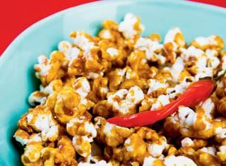 Sweet and Hot Popcorn recipe