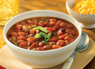 Hearty Red Gold Chili recipe, courtesy of Red Gold Tomatoes