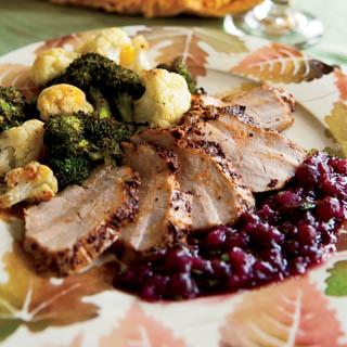 Pork Tenderloin with zesty cranberry sauce recipe