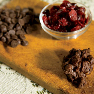 Chocolate Fruit & Nut Clusters recipe