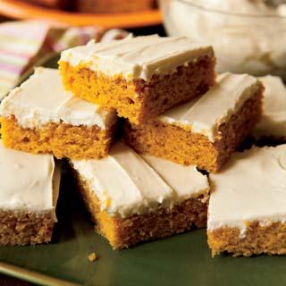 Best Ever Pumpkin Bars Recipe