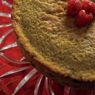 Berry Cornmeal Cake recipe