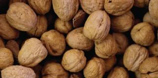 Walnuts before toasting