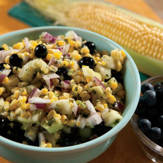 Blueberry Corn Salad Recipe