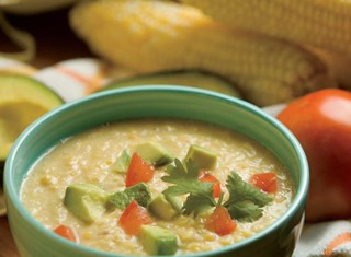 Southwestern Corn Chowder Recipe, Cold Soups