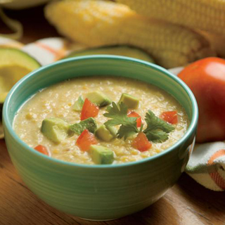 Southwestern Corn Chowder Recipe, Cold Soups