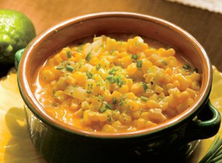 Chili-Lime Creamed Corn Recipe