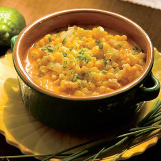 Chili-Lime Creamed Corn Recipe