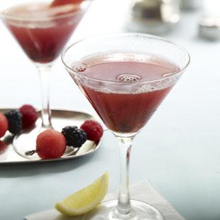Watermelon Blackberry Martini Recipe