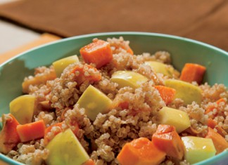 Cinnamon-Spiced Quinoa with Apples and Sweet Potato Recipe