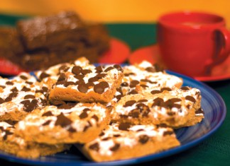 Low Fat Peanut Butter S'mores