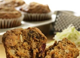 Pear-Carrot-Cranberry Muffins Recipe