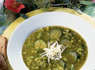Pea and Pesto Soup Recipe