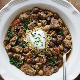 Slow Cooker Lamb and Fig Stew Recipe