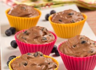 Blueberry Chocolate Mousse Tarts Recipe