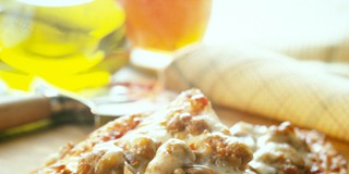 Cheesy Sausage and Mushroom Pizza Recipe