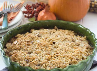 Pear and Cranberry Crumble Recipe